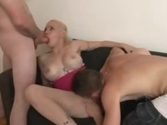 Tattooed fake tits amateur milf hardcore sex scene