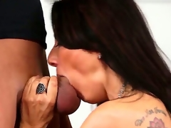 Juvenile handsome stud Xander Corvus records in point of view seductive arousing and playful milf Zoey Holloway with perfect titties and fantastic oral skills sucking his unyielding pecker