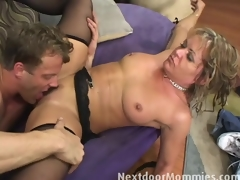 Kelly receives fucked by her stepson