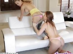 Maddy OReilly can't live without teasing Cherie Devilles moist love tunnel