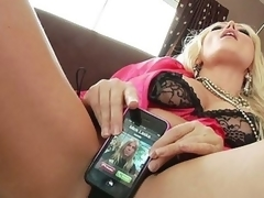For a sex junkie like Diana Doll, even a cellphone call takes on raunchy undertones. When her phone rings it vibrates and that often means her First thought is to fuck it... lengthy previous to this chick ever thinks to answer it! Having her phone number is like foreplay with Diana!